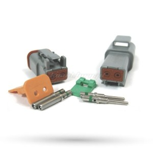 Złącza DEUTSCH-DT 2 pinowe DT04-2P / DT06-2S