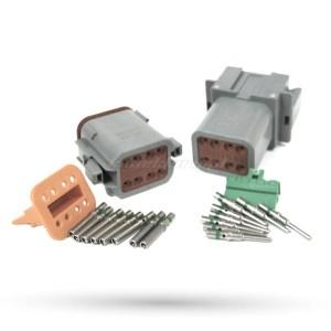 Złącza DEUTSCH-DT 8 pinowe DT04-8PA / DT06-8SA