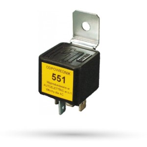 Przekaźnik zwierny 551 - 24V 20A - 1 szt.