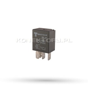 Przekaźnik 12V 30A 5 stykowy MIKRO przełączny - 1 szt.