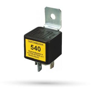 Przekaźnik zwierny 540 - 12V 30A - 1 szt.