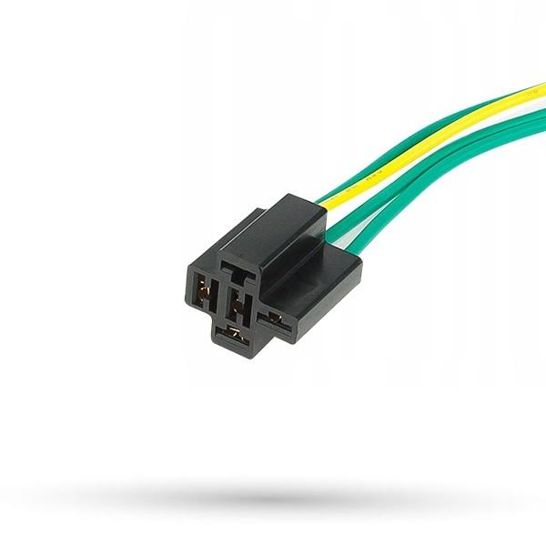 Wiązka złącze 5 polowe pod przekaźnik standardowy Mini ISO - 1kpl.